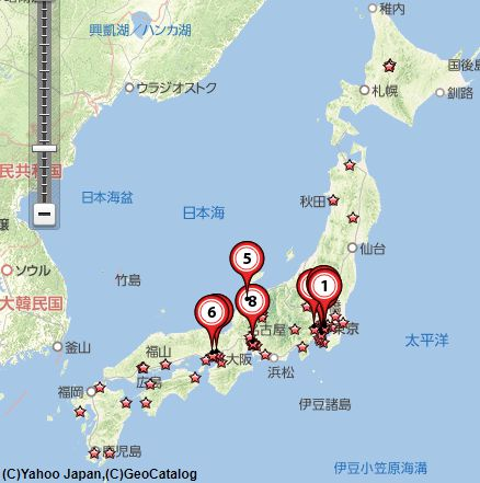 切手専門店日本全国地図画像