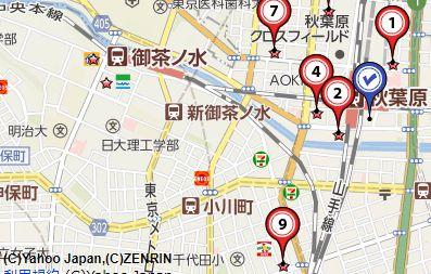神田切手買取会社地図画像