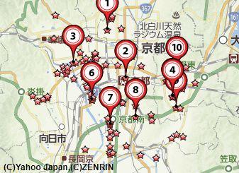 京都切手買い取り会社地図
